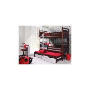 Elegantní patrová postel Trixie z masivu