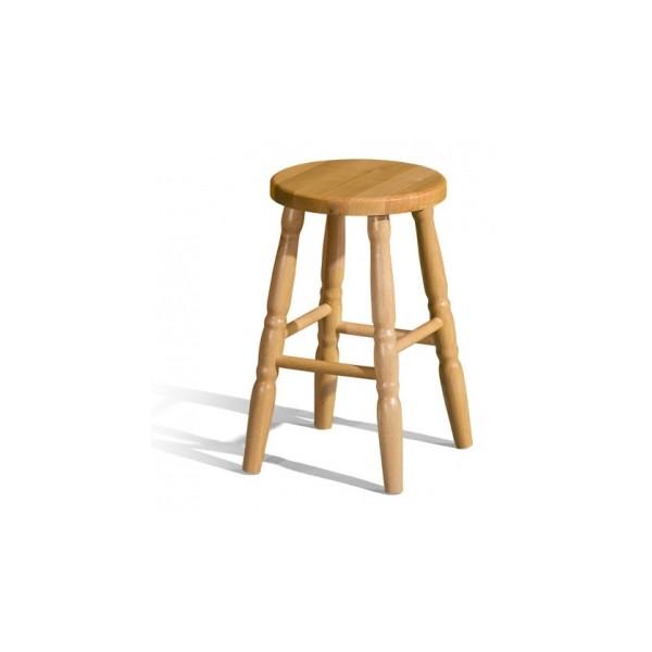 Dřevěná barová stolička Bonita