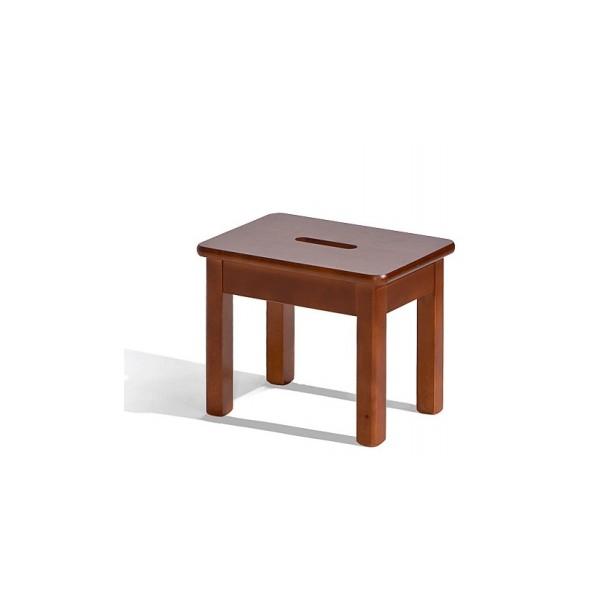 Malá dřevěná stolička Adin