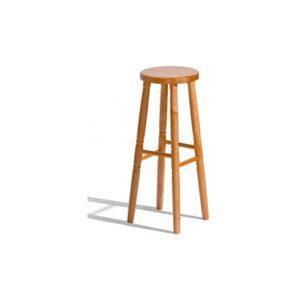 Dřevěná barová židle do kuchyně Gigi