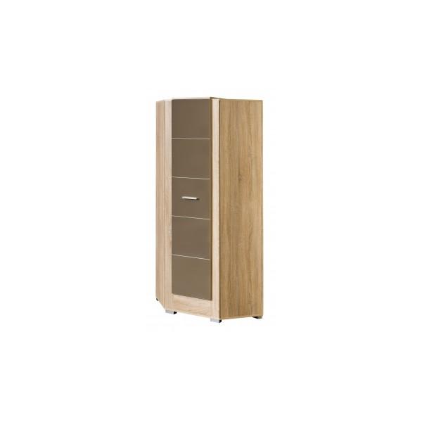 Moderní rohová šatní skříň Korvin 7
