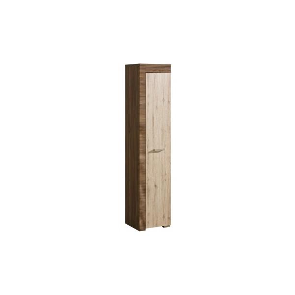 Moderní vysoká policová skříň Harmony z lamina