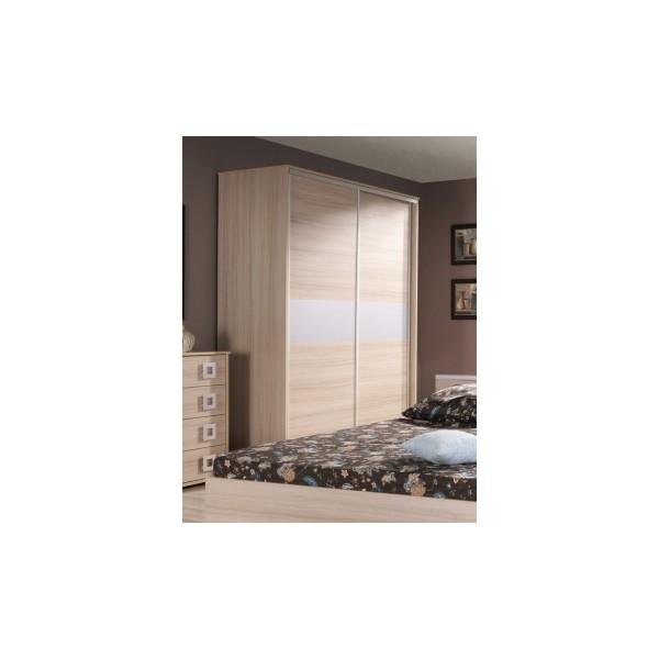 Velká šatní skříň s posuvnými dveřmi Freda