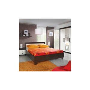 Manželská postel s vysokým čelem Wiga