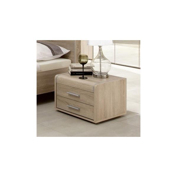 Noční stolek Volinois RM – provedení dub světlý