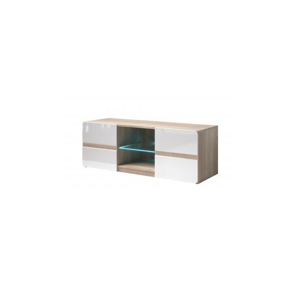 Moderní televizní stolek Sicilia 1 světlá