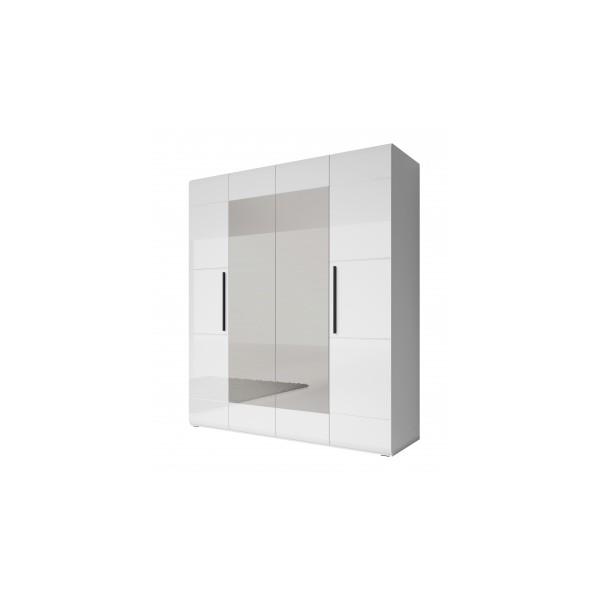 Šatní skříň Serina - bílá