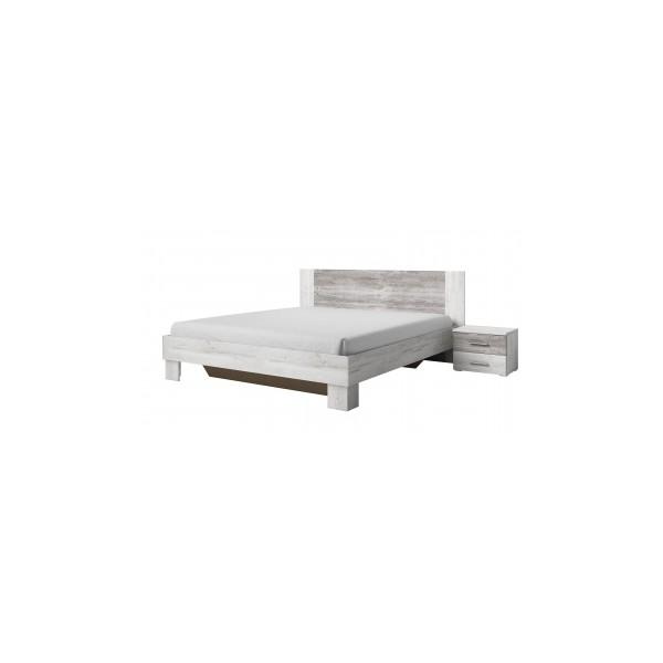 Manželská postel s nočními stolky Veria bca