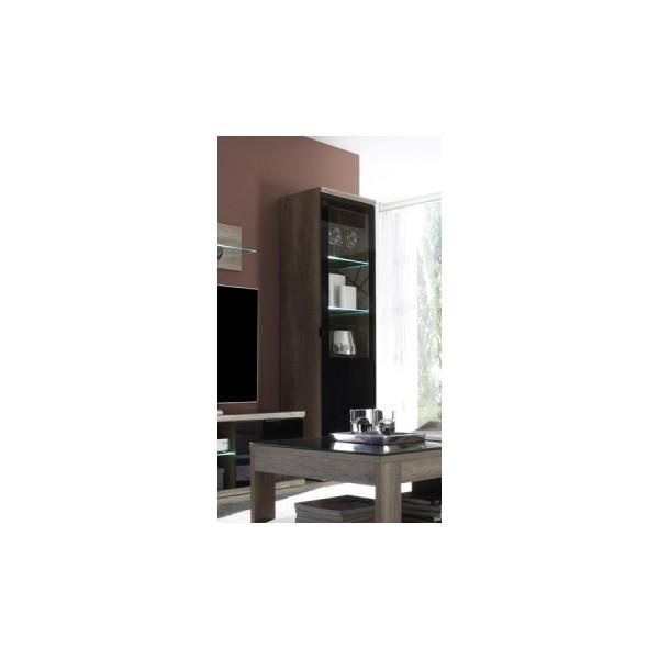 Prosklená vitrína do obývacího pokoje Derby 2 (pravá)