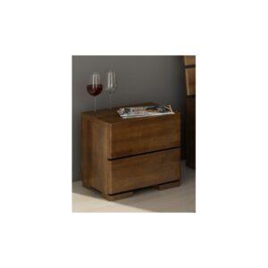 Noční stolek z masivu buku Rikard