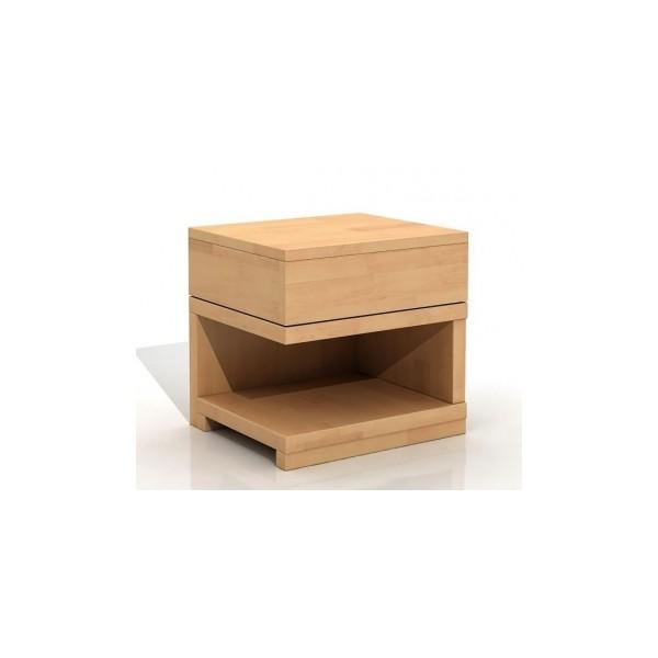 Noční stolek z masivu buku Bartolomeus