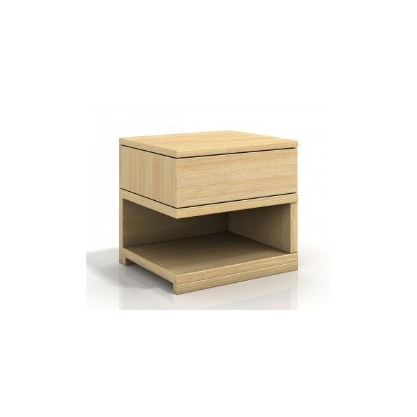 Noční stolek Jorden z masivu borovice