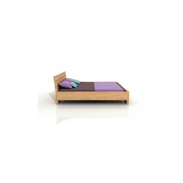 Buková postel s úložným prostorem Melker