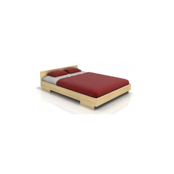 Masivní postel Einar s vůní borovice