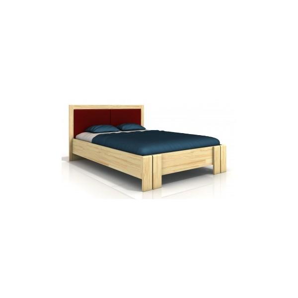 Dřevěná postel Toril 4 ve skandinávském stylu