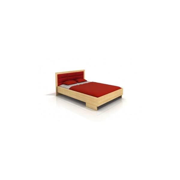 Skandinávská manželská postel Inga 4 z masivu borovice