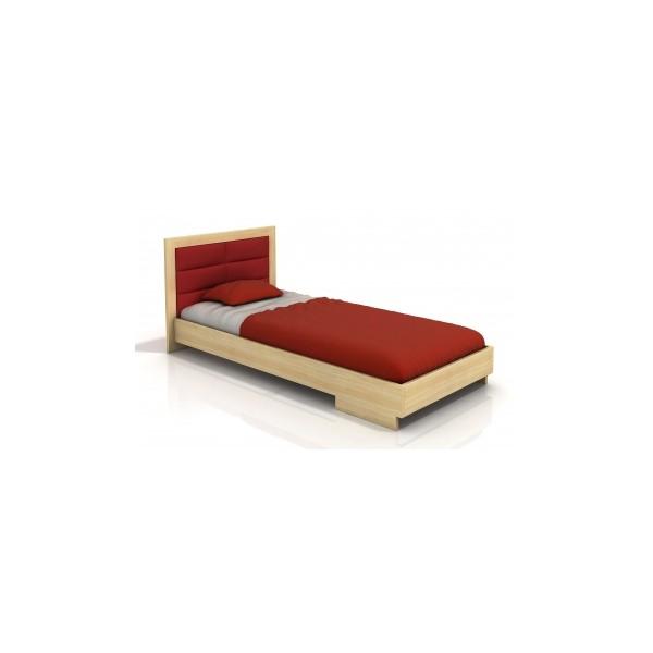 Elegantní borovicová postel Inga 5 ve skandinávském stylu