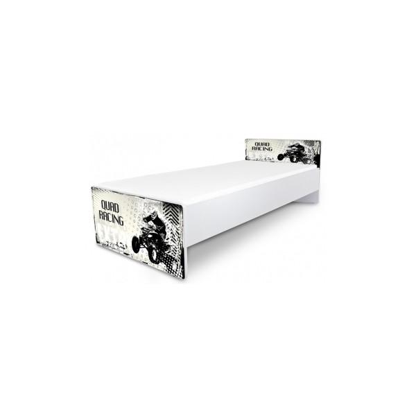 Jednolůžková dětská postel Racing
