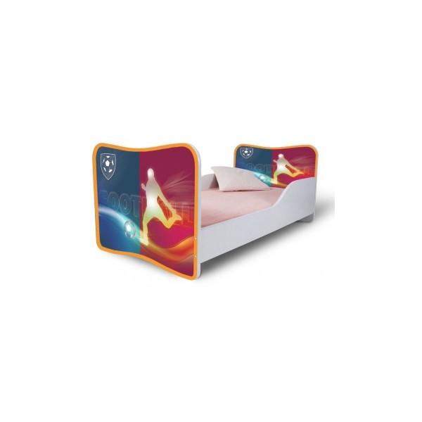 Dětská jednolůžková postel s motivem Fotbal - klub