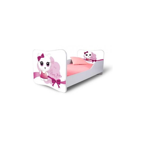 Dětská postel Cutte Kitty růžová