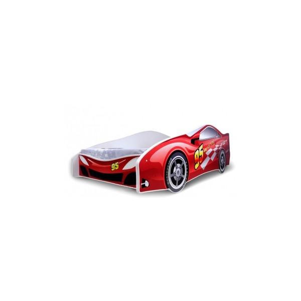 Dětská postel Auto červená