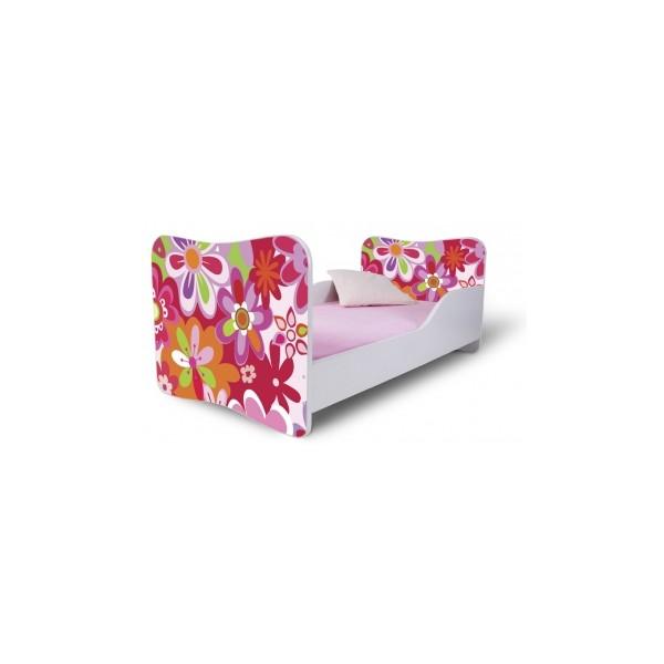 Dětská postel s květy Orion