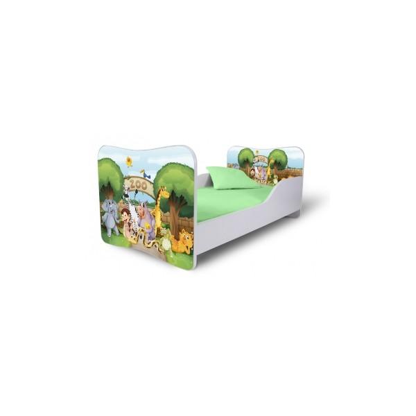 Jednolůžková dětská postel Zoo
