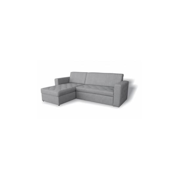 Rozkládací rohová sedačka s úložným prostorem Avar