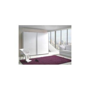 Bílá šatní skříň do ložnice Darvin 3