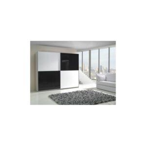 Moderní šatní skříň s posuvnými dveřmi Darvin 4
