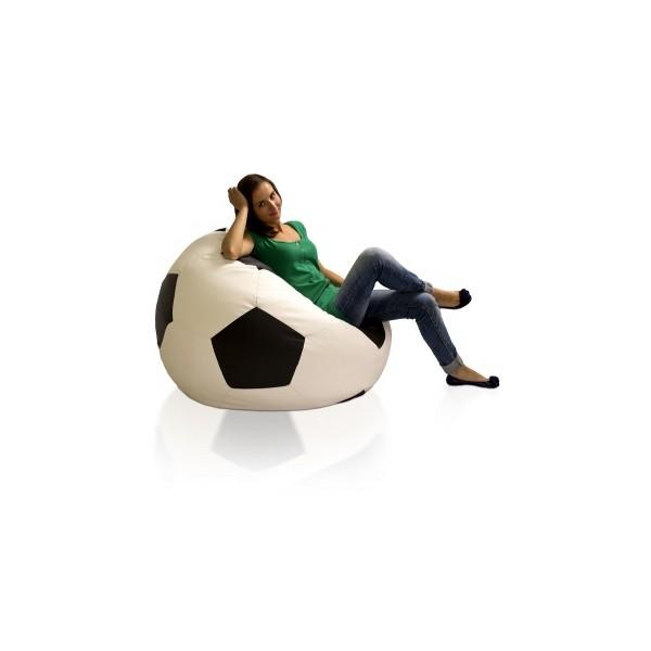 Sedací vak fotbalový míč Fotbal XXL (2XL)