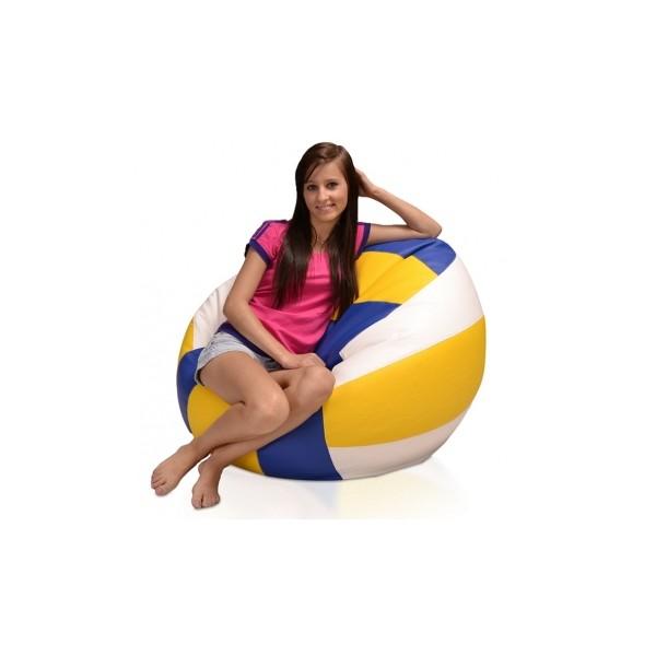 Sedací pytel míč Volejbal XL