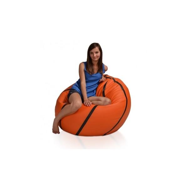 Sedací pytel – provedení míč Basketbal XL