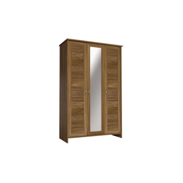 Šatní skříň se zrcadlem Lerit