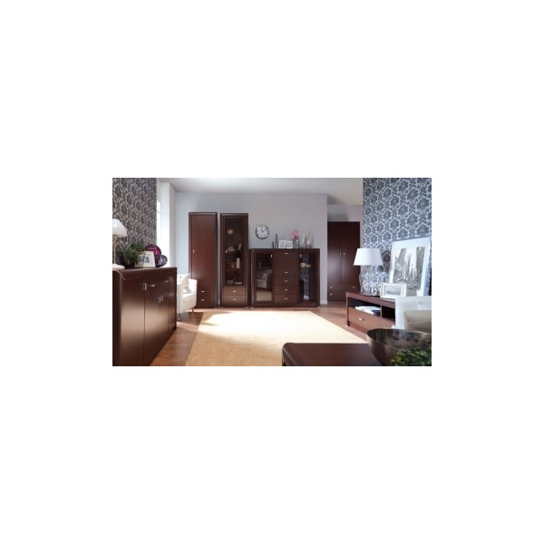 Klasická obývací stěna Manuela