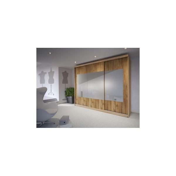 Šatní skříň se zrcadlem Duana 4