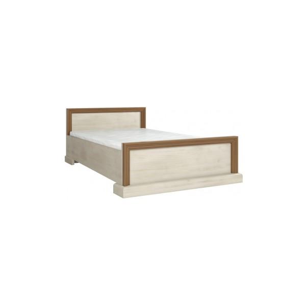 Manželská postel Meryl v rustikálním stylu