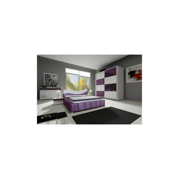 Moderní nábytek do ložnice - sestava Amabel