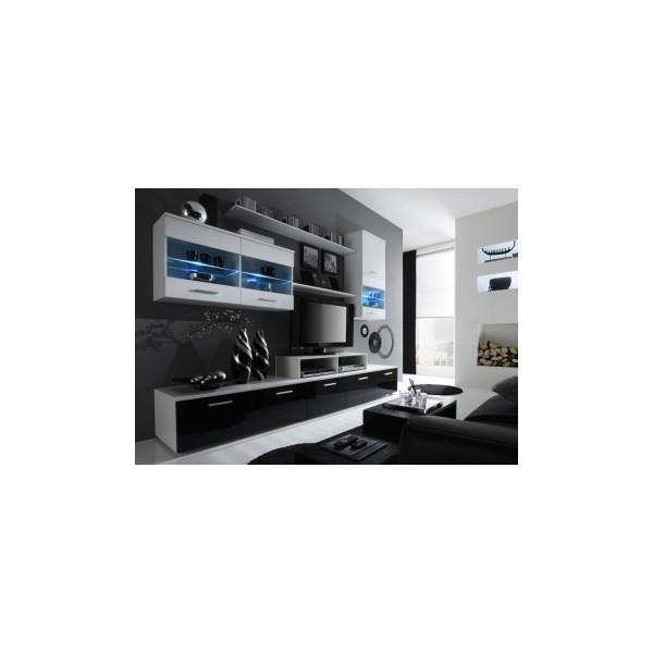 Černobílá obývací stěna Jessie 3