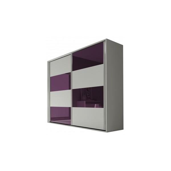 Moderní šatní skříň s posuvnými dveřmi Amabel