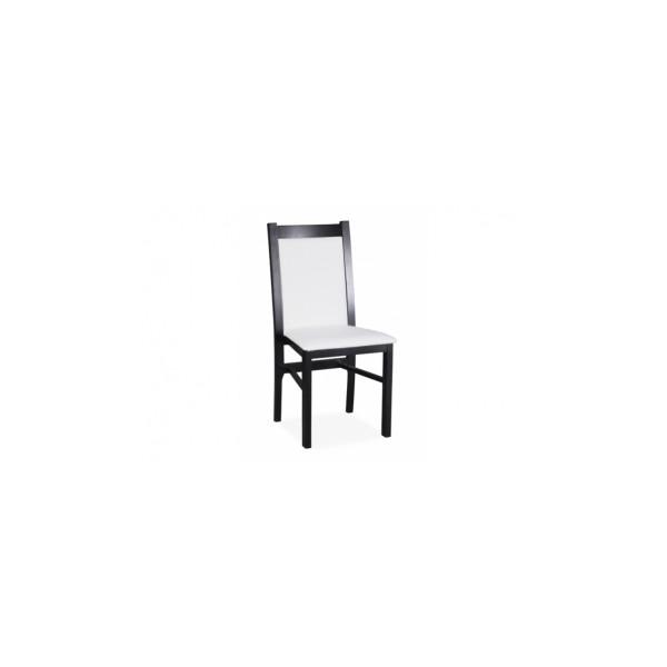 Čalouněná jídelní židle z masivu Sabiha
