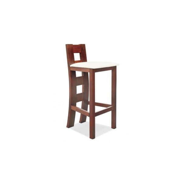 Barová židle z masivu Kaukara