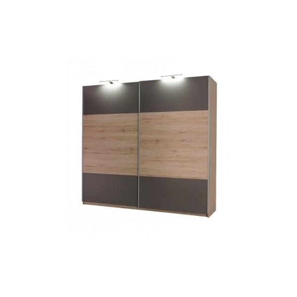 Moderní šatní skříň s posuvnými dveřmi Darien