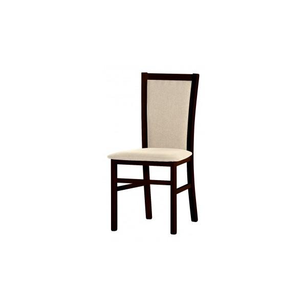 Čalouněná jídelní židle z masivu Gladis 2 - wenge