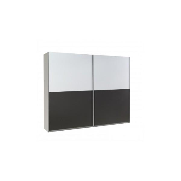 Moderní šatní skříň Darvin 19 s posuvnými dveřmi