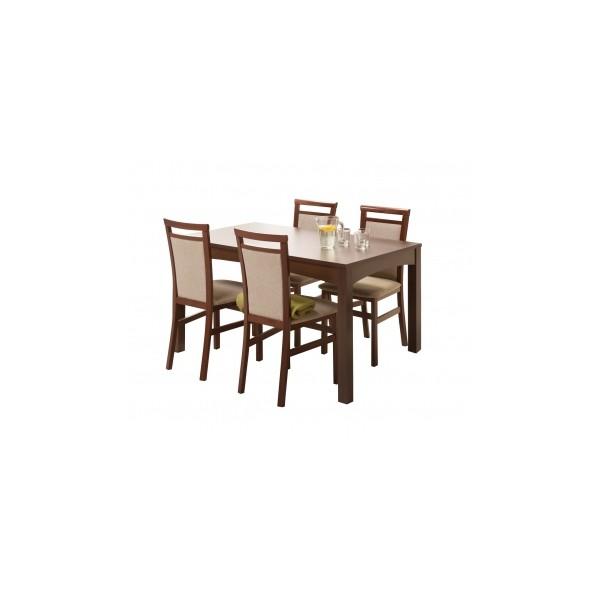 Moderní jídelní set 4+1 Madelin s rozkládacím stolem