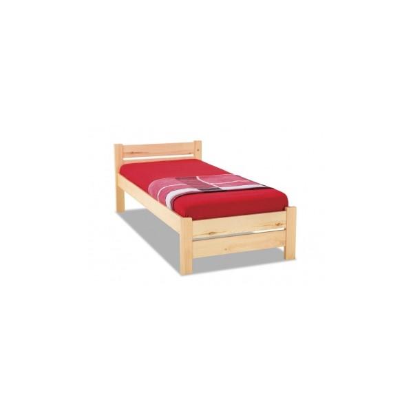 Jednoduchá postel z masivu Lily