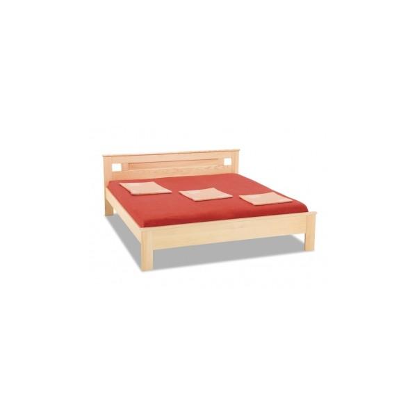 Dřevěná postel Hedvika