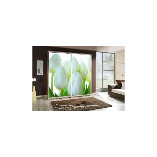 Šatní skříň s květinami Penelopa 24
