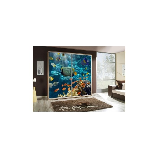 Šatní skříň s oceánem Penelopa 26